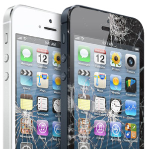 Cracked iPhone repairs